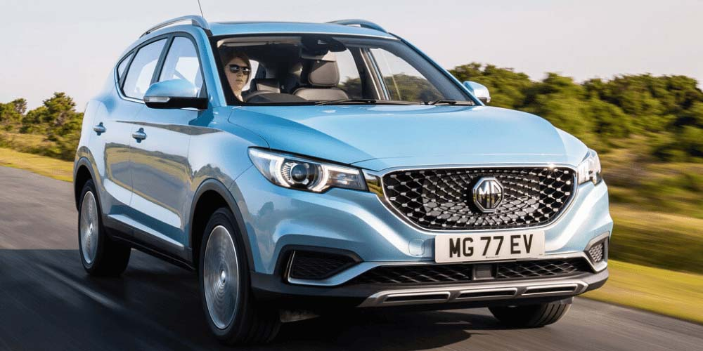 MG ZS EV leasen bij DutchLease