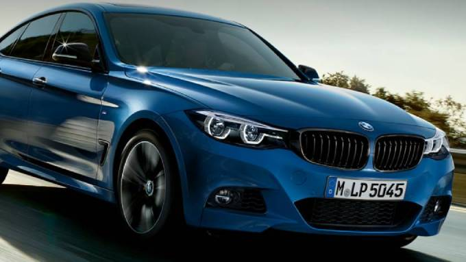 BMW 3 serie grand turismo front