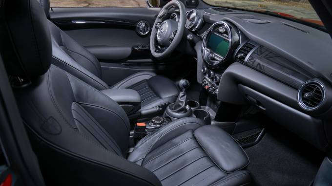 MINI 3doors interior