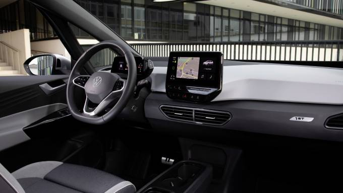 Volkswagen ID3 DutchLease dashboard